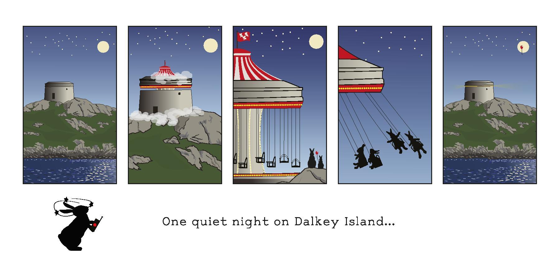 One Quiet Night – Dalkey Island