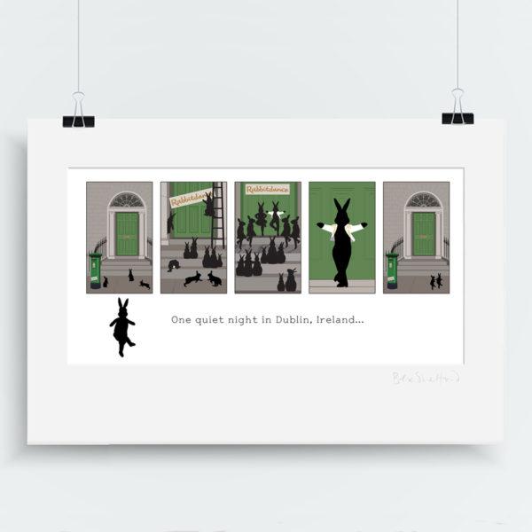 Irish Dancing art print