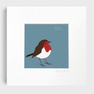 Robin Spideog Art Print